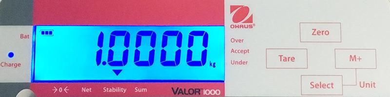 Cân điện tử Valor 1000 12